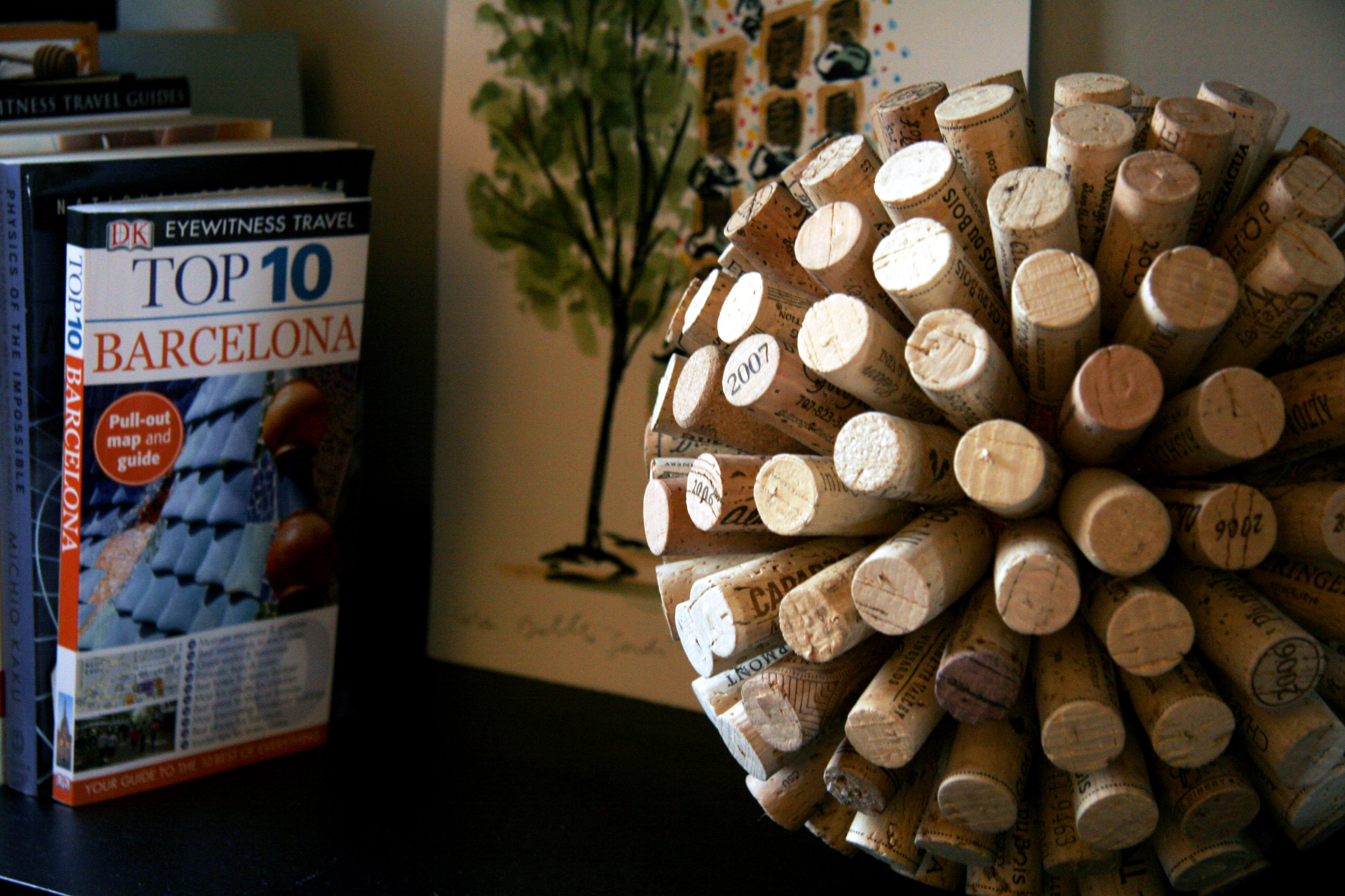 How to make a decorative cork ball | All Put Together