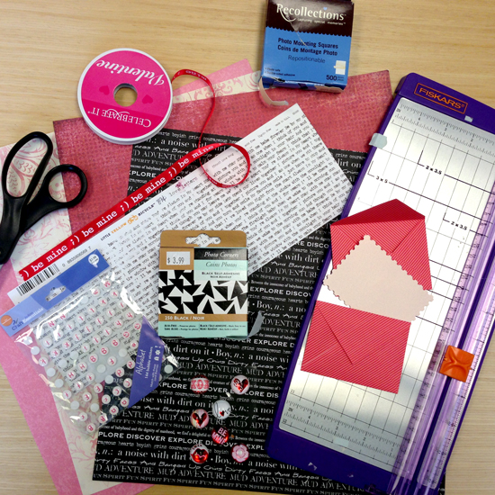 Diy Calendar Supplies : Diy valentine s day advent calendar all put together