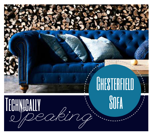Technically Speaking Chesterfield Sofa All Put Together
