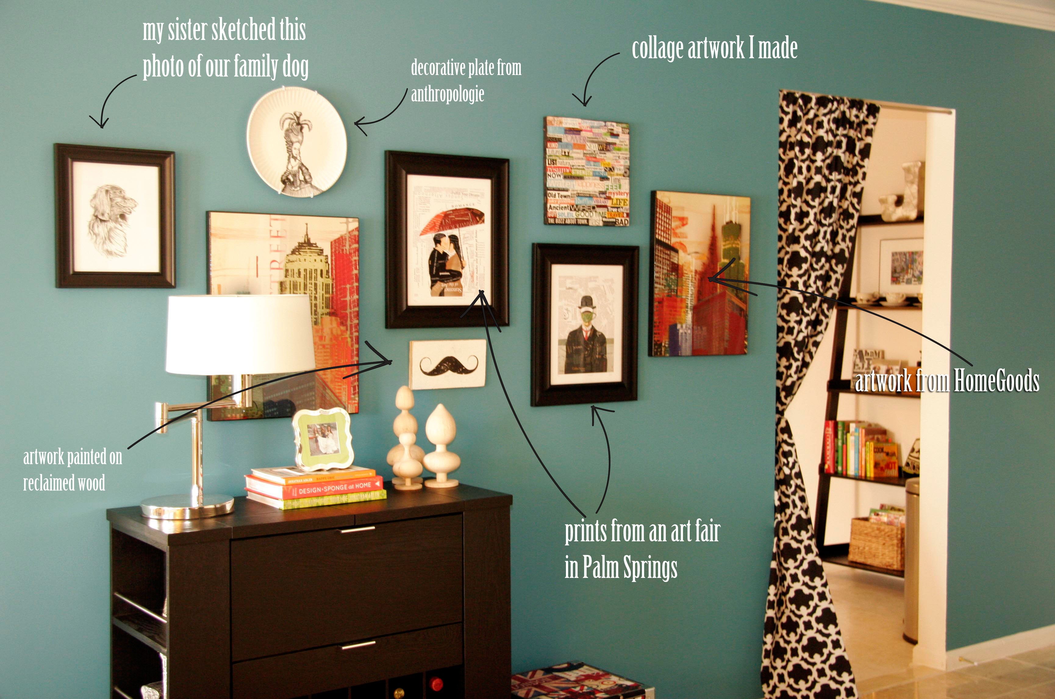 Eclectic Wall Art wall art | all put together