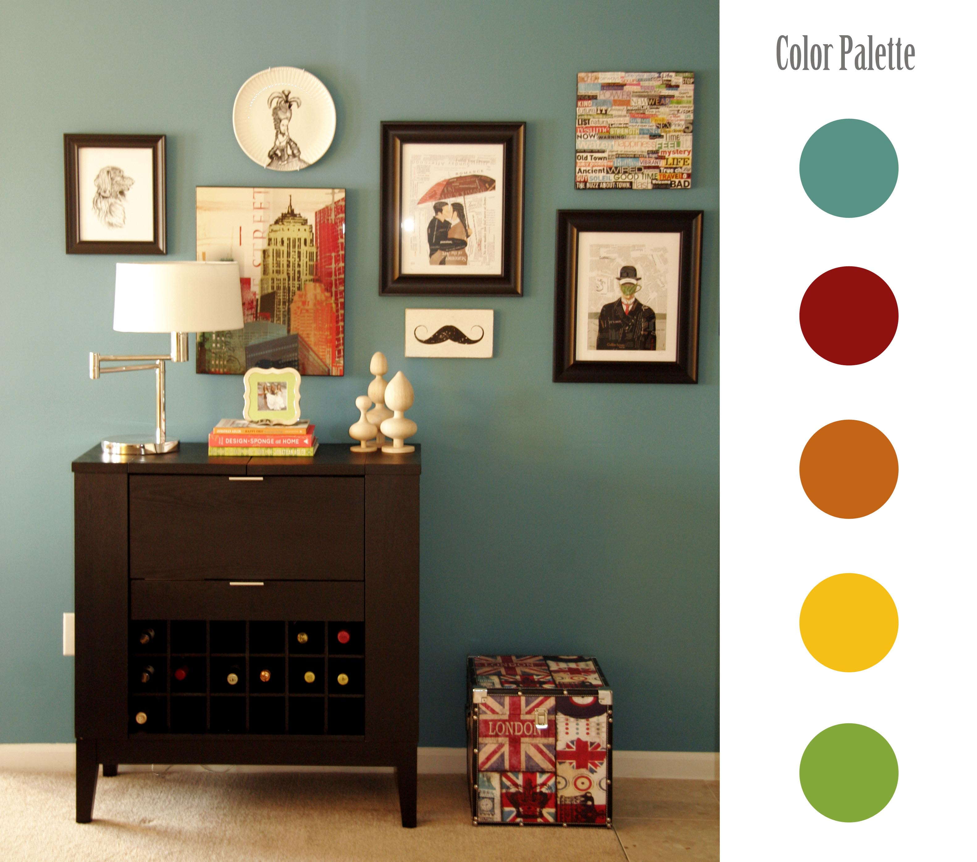 Home Decorating Color Palettes: All Put Together