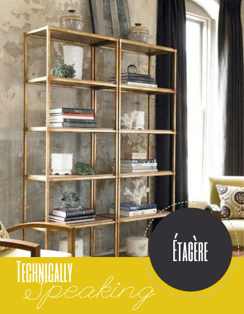 Technically Speaking Etagere