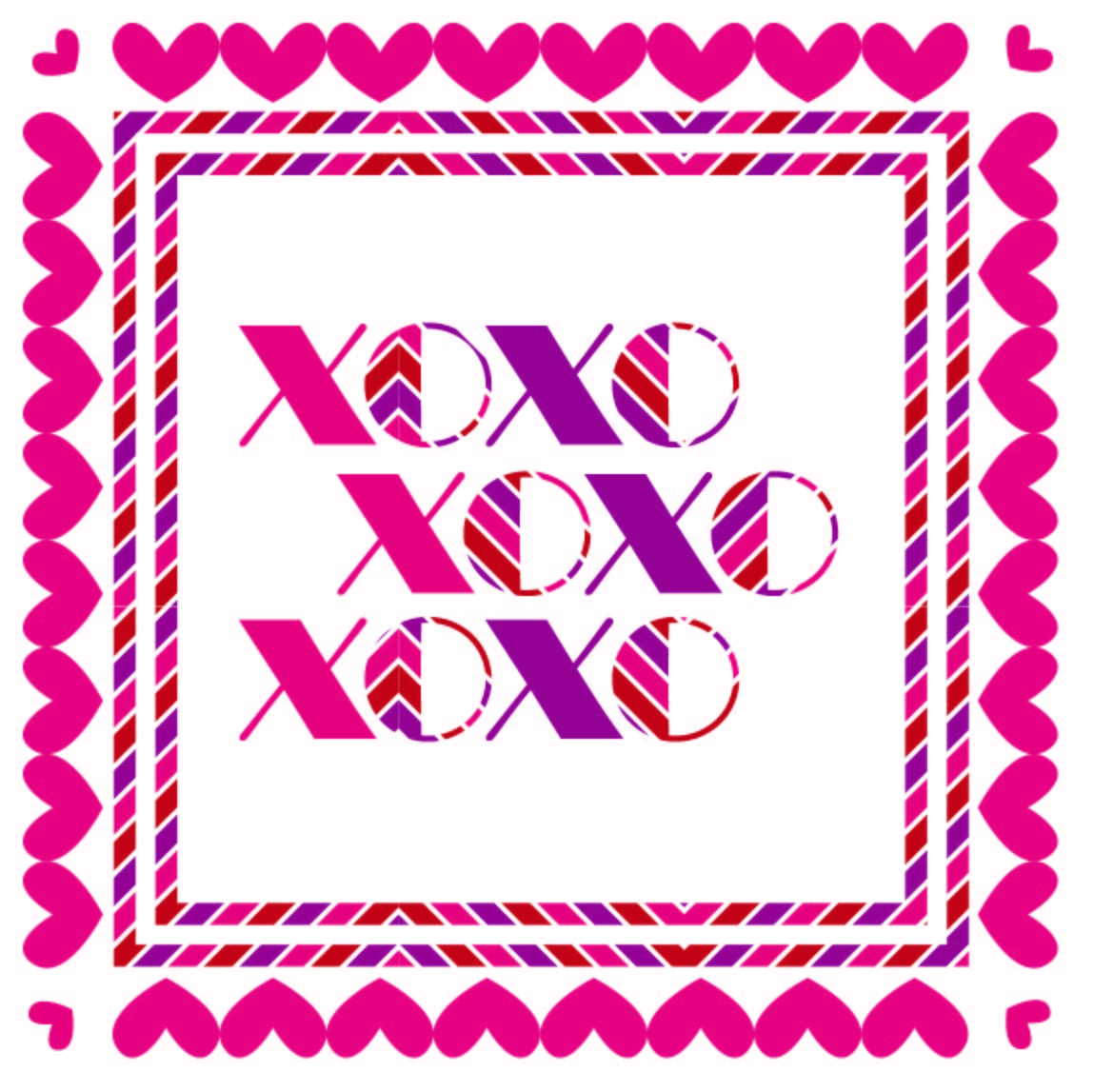 xoxo printable image-01