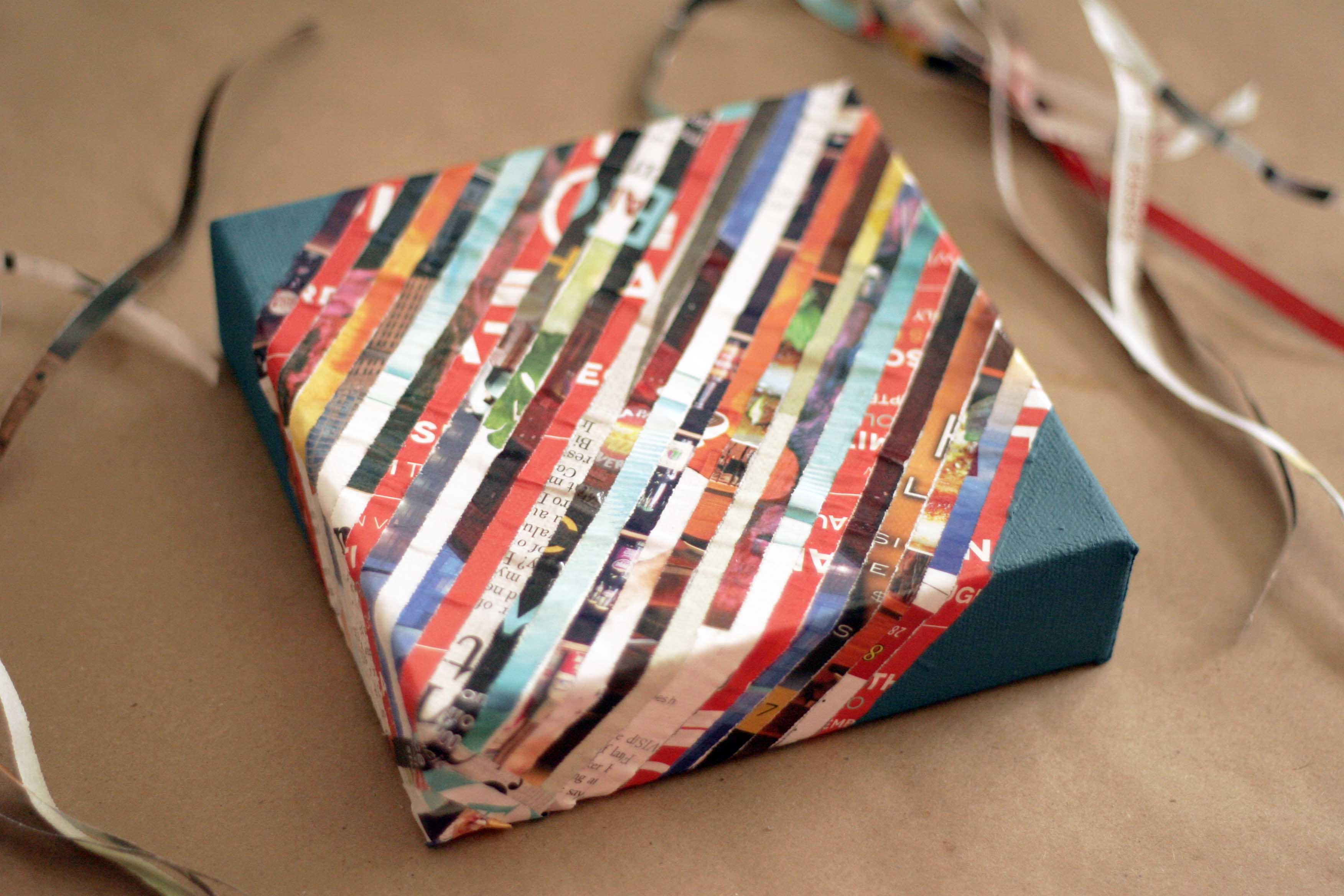 Shredded Paper Arts And Crafts Ladies Home Crafting
