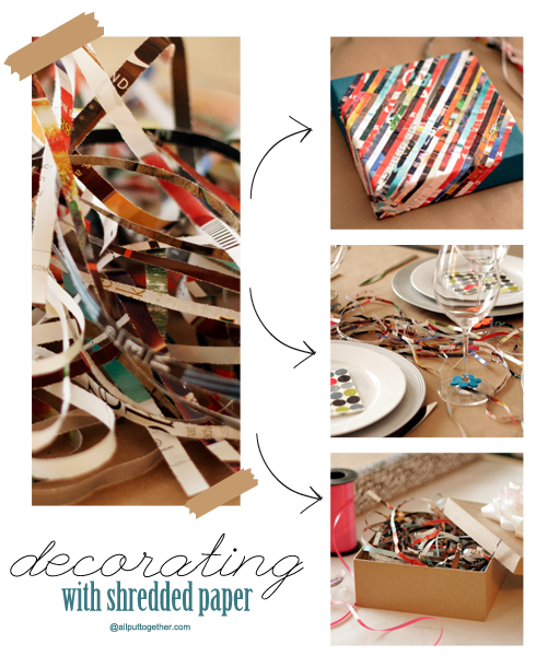 Things to do with Shredded Paper
